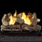 HearthSense Ventless Natural Gas Log Set - 18in., 32,000 BTU