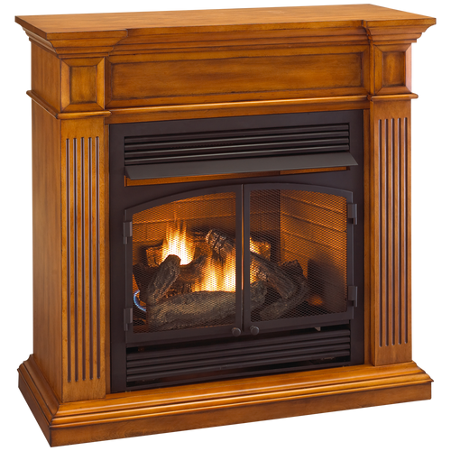 ProCom Full Size Gas Fireplace - FBD400RT-J-LM