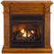 Remote Control Gas Fireplace - FBD400RT-J-LM