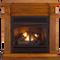 Remote Control Gas Fireplace - Model# FBD400RT-J-MM