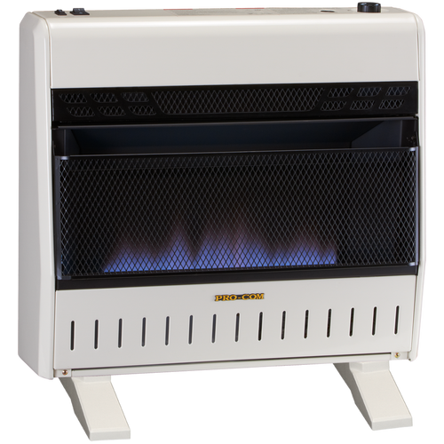 ProCom Vent Free Blue Flame Heater - Model# MTF300TBA-B