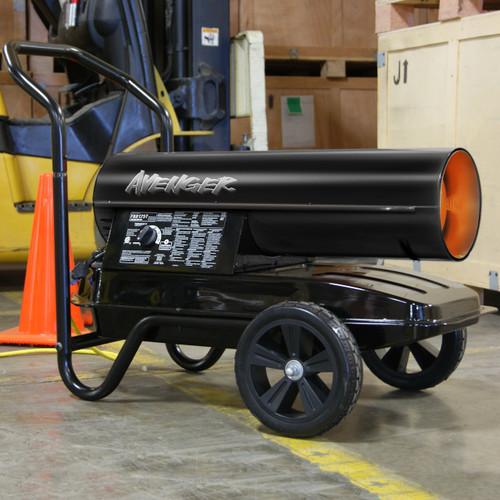 Avenger Portable Kerosene Multi-Fuel Heater, #FBD125T