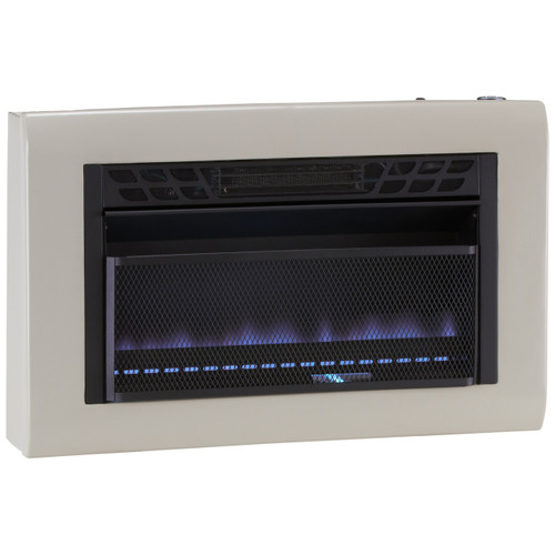 Cedar Ridge Recon Dual Fuel Blue Flame Gas Heater 30 000
