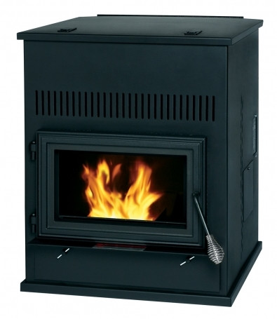Summers Heat 2,000 Sq. Ft. Pellet Auxiliary Heater Stove
