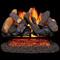 24 in. Log Set Duluth Forge Vented Gas Log Set