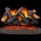 Duluth Forge Vented Fireplace Log Set - 30 in. Heartland Oak
