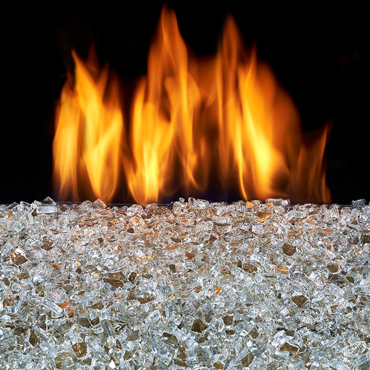Duluth Forge Vented Fire Glass Burner Kit 18in 55 000 Btu