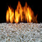 Duluth Forge Vented Fire Glass Burner With Reflective Crystal Glass