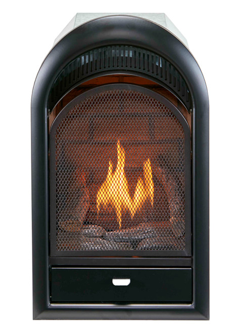 Duluth Forge Vent Free Arched Fireplace Insert