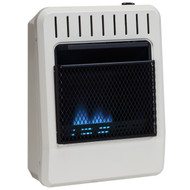 Avenger Dual Fuel Vent Free Blue Flame Heater with 10,000 BTU