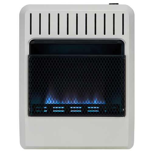 Avenger Dual Fuel Vent Free Blue Flame Heater with 20,000 BTU