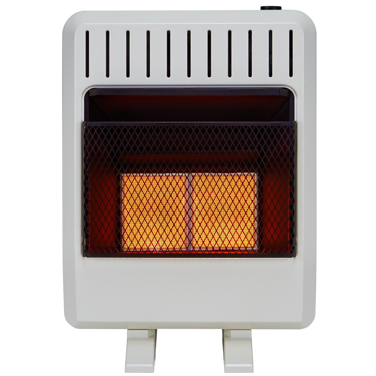 Lost River PCI3TIR Space Heater 30,000 BTU White Home & Kitchen ...