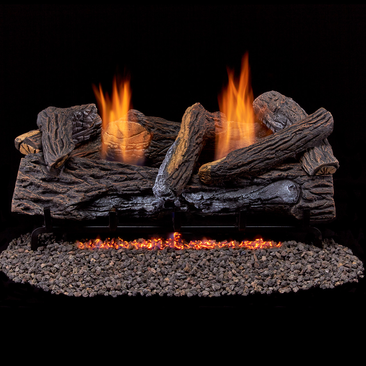 vent free fireplace ventless gas logs natural gas propane rh factorybuysdirect com  natural gas fireplace logs with blower