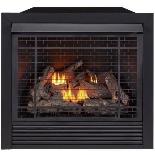 Duluth Forge Dual Fuel Ventless Fireplace Insert - 32,000 BTU, Remote Control FDI32R (170038)