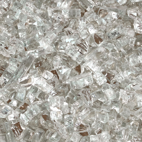 Duluth Forge 1/4 in. Premium Clear 10 lb. Fire Glass
