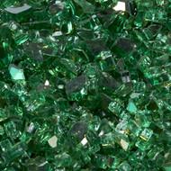 Duluth Forge 1/4 in. Premium Emerald 10 lb. Fire Glass