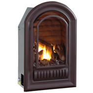 A-Series Natural Gas Vent Free Fireplace Insert - 20,000 BTU, Millivolt Control