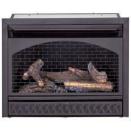 Procom Fireplaces 29 in. Ventless Dual Fuel Firebox Insert FBNSD28T