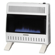 ProCom Dual Fuel Ventless Blue Flame Heater With Blower and Base- 30,000 BTU