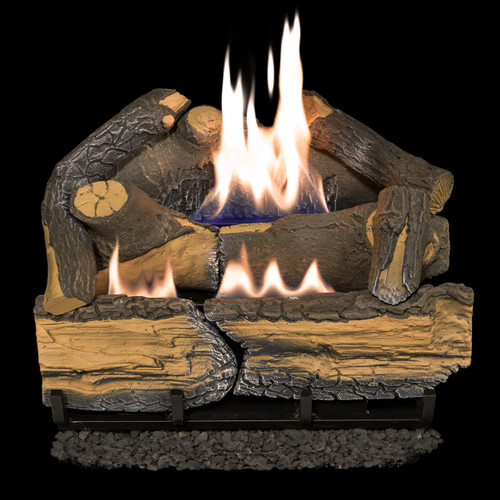 Cedar Ridge Hearth Recon 18-in 30,000-BTU Dual-Burner Ventless Gas ...