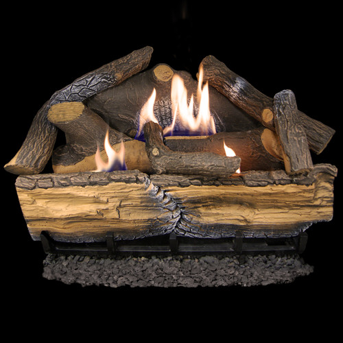 Cedar Ridge Hearth 24 inch Vent Gas Log Set - Model CRHD24T
