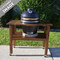 Duluth Forge Ceramic Cooker and Acacia Table