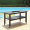 Table for Large Ceramic Charcoal Kamado Grill and Smoker
