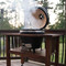 Duluth Forge Kamado Ceramic Egg Smoker & Grill With Table- Medium Model