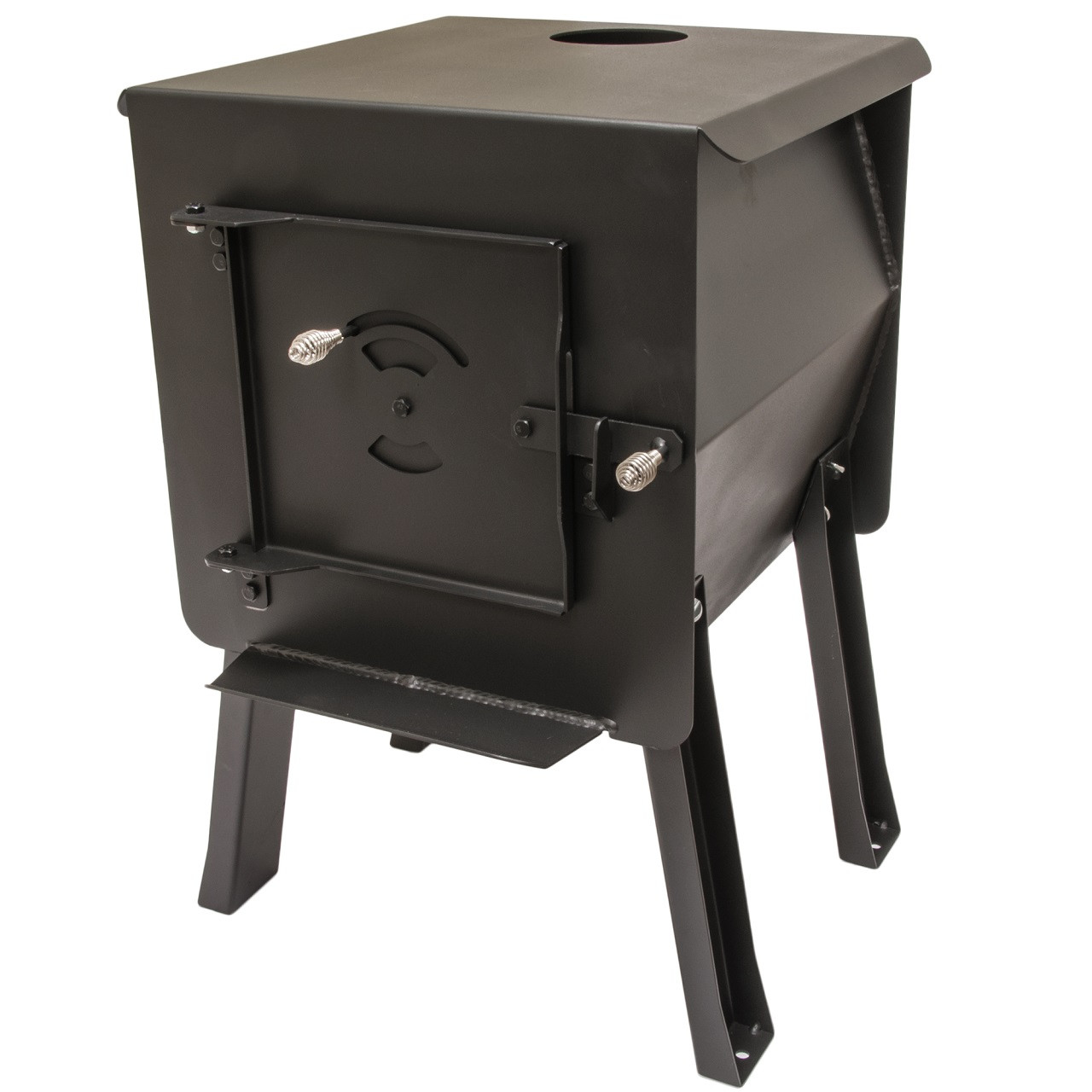 Black Bear Portable Camping Wood Stove by England's Stove Works - Model  12-CSM - Cub Portable Camping Wood Stove By England's Stove Works - Model