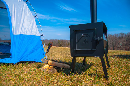 Black Bear Wood Burning C&ing Stove & Black Bear Portable Camping Wood Stove by Englandu0027s Stove Works ...