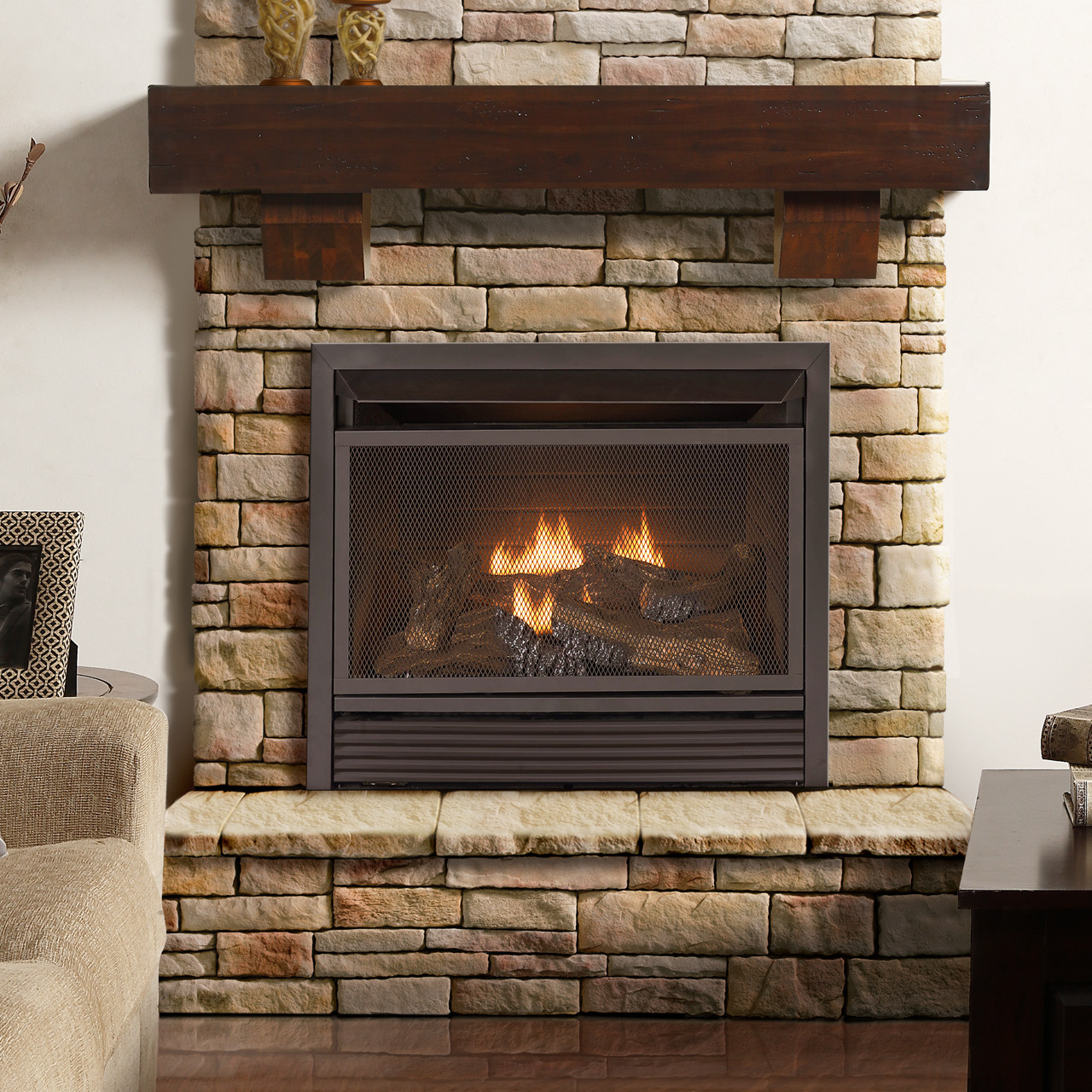 duluth forge 60 inch fireplace shelf mantel with corbels antique rh factorybuysdirect com