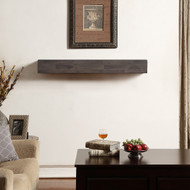 Duluth Forge Fireplace Shelf Mantel in Antique Brown