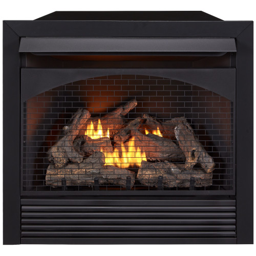 """ProCom 32"""" Zero Clearance Fireplace Insert With Remote - Model FBNSD32RT"""