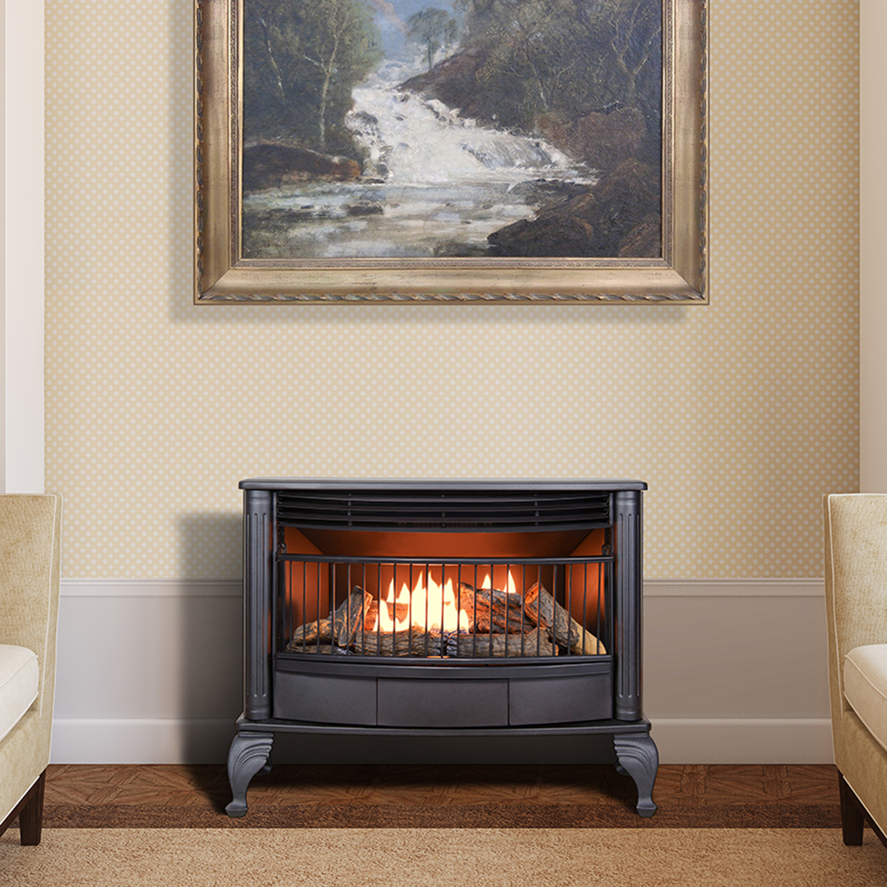 Ventless Fireplace Gas Gas Fireplace Natural Gas