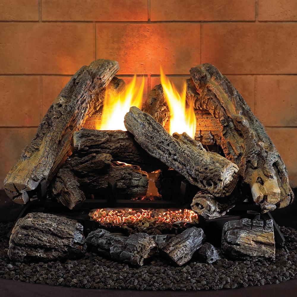 HearthSense Ambi 2 Natural Gas Log Set - Model# VF18NA-2 - ProCom Heating Fireplaces & Log Sets For Sale Factory Buys Direct