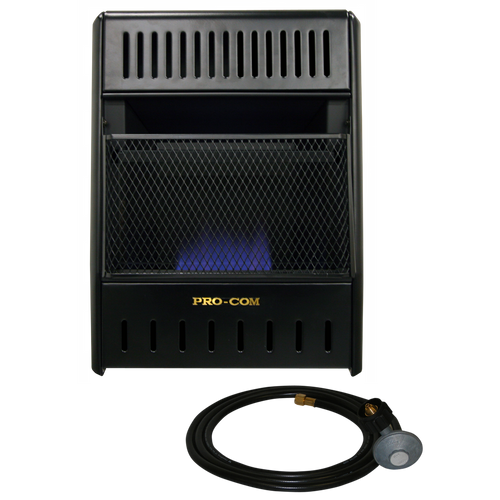 Procom Liquid Propane Ventless Ice House Heater 10 000
