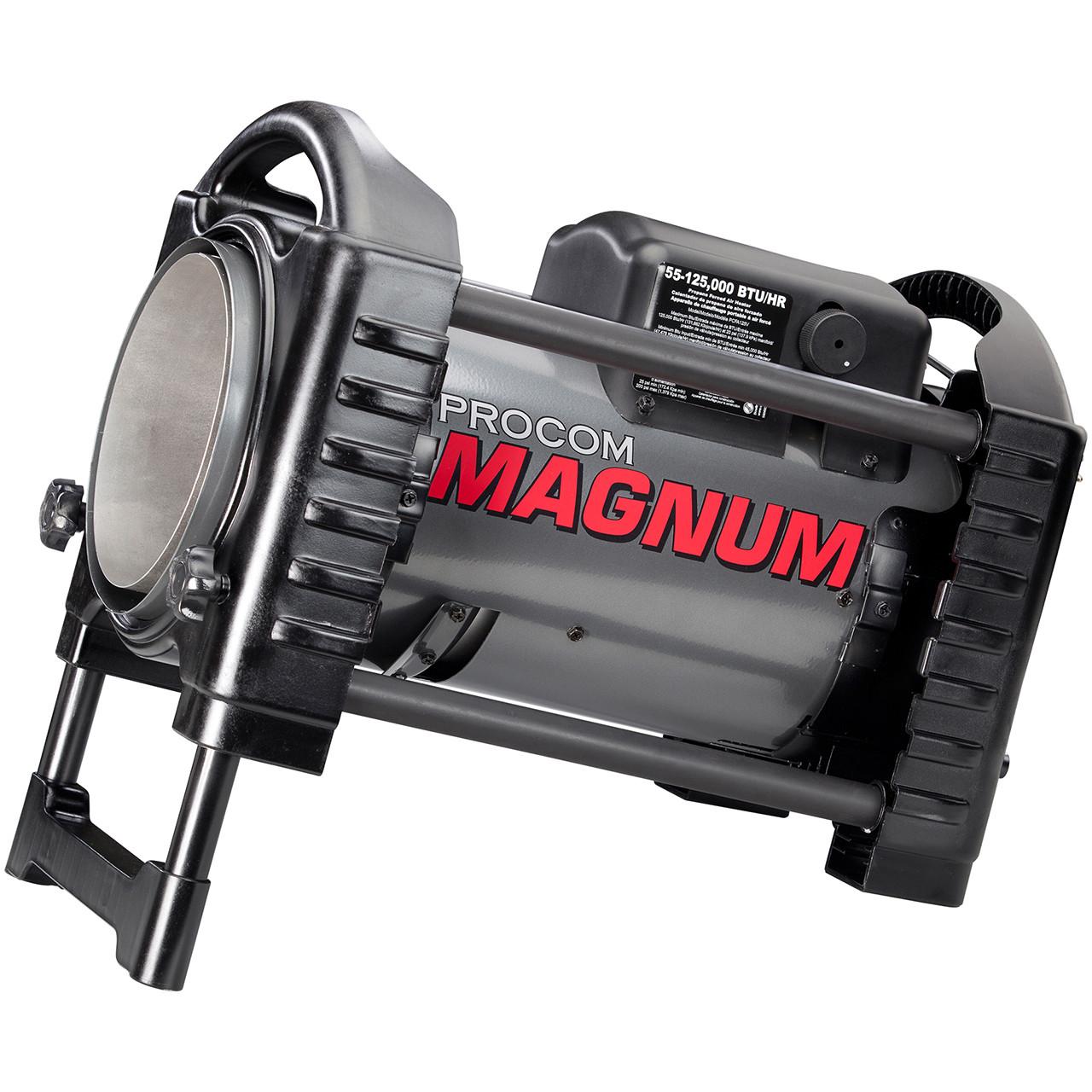 Forced Air Propane Heater >> Procom Magnum Forced Air Propane Heater 125 000 Btu Model