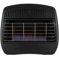 ProCom Reconditioned Dual Fuel Vent-Free Blue Flame Heater - 30,000 BTU, Model# MD300TBF
