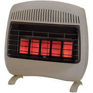 ProCom Reconditioned Dual Fuel Vent-Free Infrared Heater - 30,000 BTU, Model# MD5TPF
