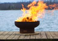 Fire Pit Art Low Boy Fire Pit on fire