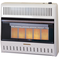 ProCom Reconditioned Dual Fuel Vent-Free Infrared Heater - 30,000 BTU, Model# MD5TPA