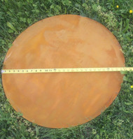 Nepal Circle Base Plate protects your patio from damage