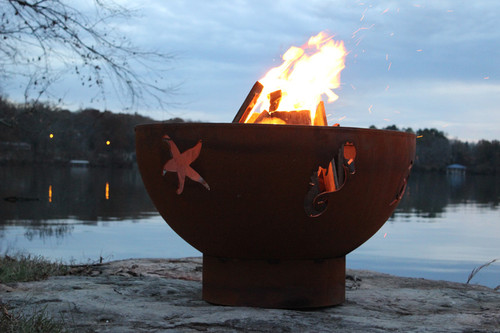 Fire Pit Art Sea Creatures Fire Pit by the lake - Fire Pit Art Sea Creatures Fire Pit - Factory Buys Direct