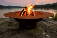 Fire Pit Art Magnum Fire Pit is a heavy duty fire bowl that will last a lifetime