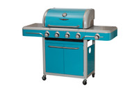 Bull BBQ 4 Burner Bel Air by Bull Vintage Blue Cart Grill