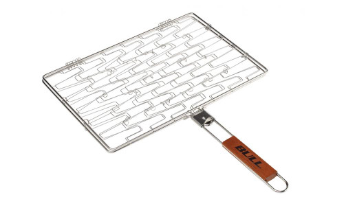 Bull BBQ Stainless Rectangle Flexi Grilling Basket