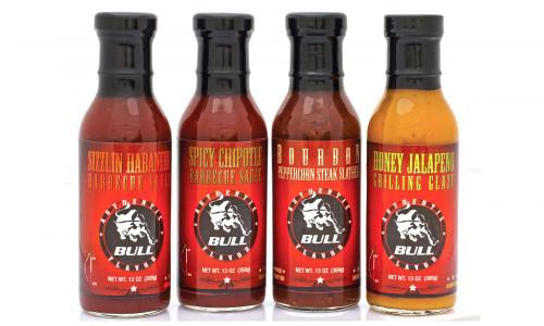 Bull BBQ Honey Jalapeno Grilling Glaze 13oz