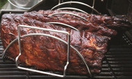 Bull BBQ Stainless Reversible Roasting / Rib Rack