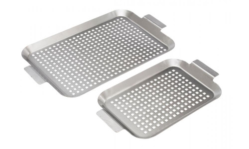 Bull BBQ Stainless Grid / Small & Medium / Set