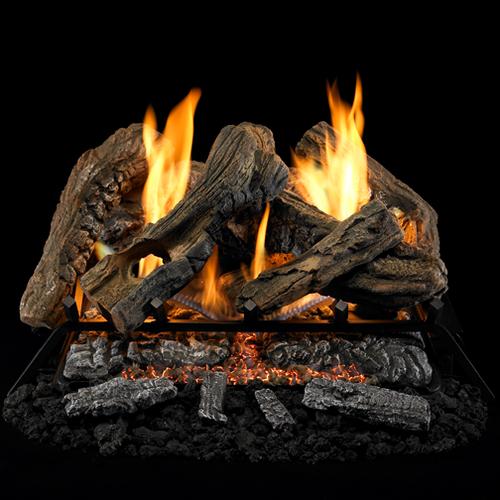 ProCom Reconditioned Dual Fuel Log Set, #CRHEB24RT